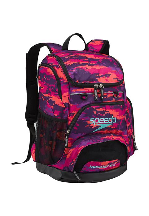 3ee33f1081c ... Speedo Teamster Backpack 35L - Digi Camo Purple ...