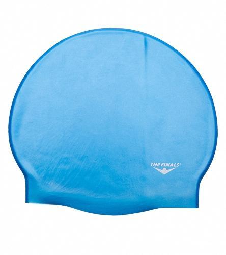 5a92d7d20a5 The Finals Silicone Swim Cap - Blue