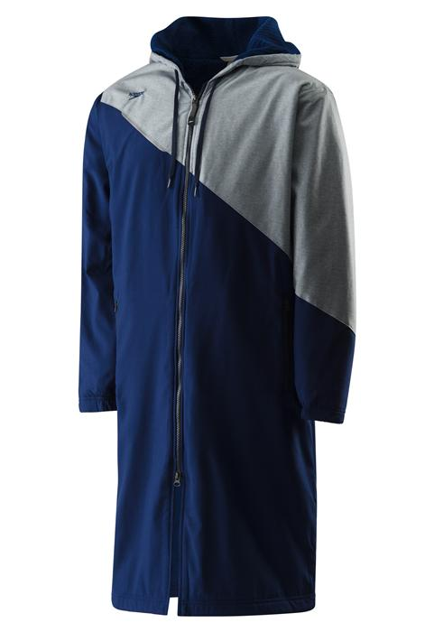 ... Speedo Color Block Team Parka - Navy ... 390022b5e7d6