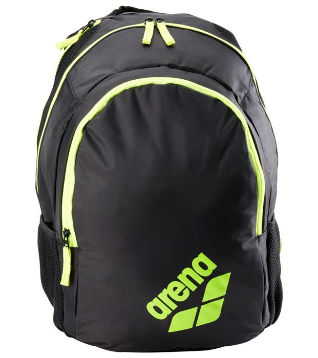 54e25a1b78 Arena Spiky 2 Backpack- Black Fluo Yellow