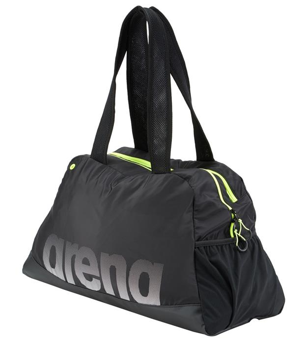 7199a69cd24 Arena Fast Woman Duffle Bag- Black Fluo Yellow