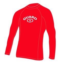 5ec9ba64fdea6 Adoretex Men's Guard Rashguard UPF 50+ Swim Shirt-Red