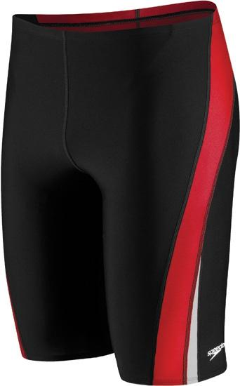 b6ca355c2a Speedo Endurance+ Launch Splice Jammer - Black/Red
