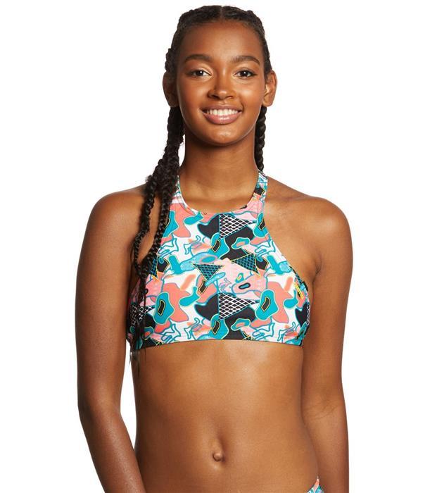 0898b6511f6de Arena Women s Rulebreaker Crop Think Top Bikini Top 19