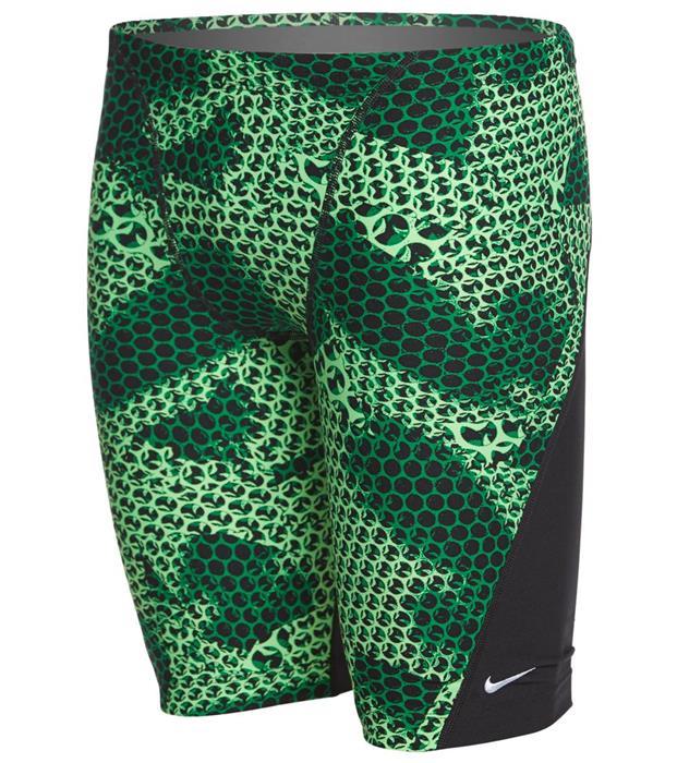 08d8648702 Nike Swim Men's Nova Spark Performance Jammer- Court Green ...