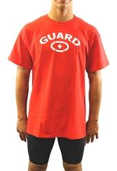 cd08ba8b41e6 Adoretex Men s Lifeguard T-Shirt-Red
