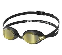 Speedo Speed Socket 2.0 Mirrored Competitive Goggles Deep Gold