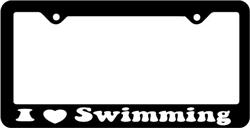 I Love Swimmer License