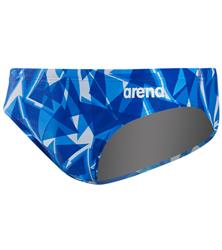 Arena Men's Shattered Glass MaxLife Brief- Royal