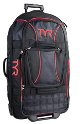 Tyr Check-In Wheel Luggage - black/red
