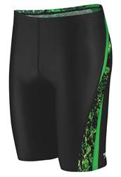 Speedo PowerFLEX Splatter Splash Jammer - Kelly Green