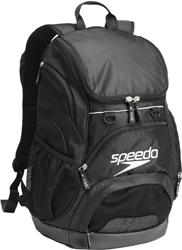 Speedo Teamster Backpack 25L - Black/Black