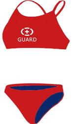 Adoretex-two-piece-guard-solid - Red