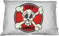 Fear Swimmers Pillowcase