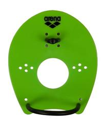 Arena Elite Hand Paddle - Acid Lime-Black