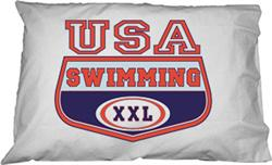USA Swimming Pillowcase