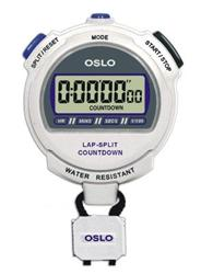 OSLO Silver 2.0 Twin Chronograph & Countdown Timer