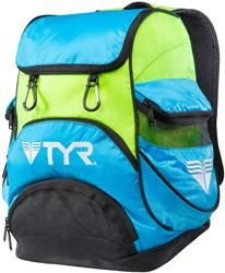 TYR Alliance Team Mini Backpack - Blue/Green