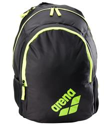 Arena Spiky 2 Backpack- Black/Fluo Yellow