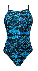 The Finals Aztec Butterfly Back - Blue