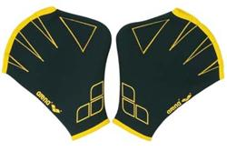 Arena Aquafit Gloves - Black/ Yellow