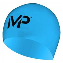 MP Michael Phelps Silicone Race Cap-Blue/Black