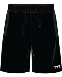 TYR Men's Team Shorts- Black