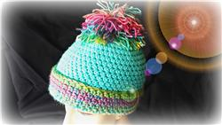 Custom Crocheted Hat