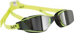 MP Michael Phelps Xceed Mirrored Neon/Black Goggles