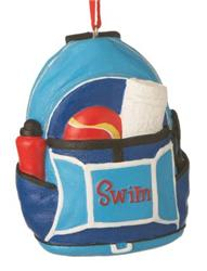 Swim Backpack Ornament