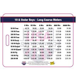 USA Swimming Time Standards Bag Tags