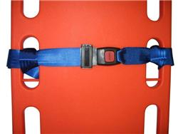 Kemp Two Piece Spineboard Strap With Metal Buckle And Loop Ends