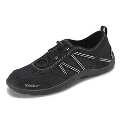 Speedo Men's Seaside Lace 5.0 Water Shoes-Blk/Blk