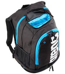 Arena Fastpack Core Backpack- Black/Turq