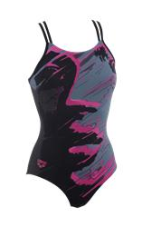 Arena Face One Piece - Deep Grey