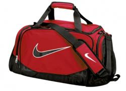 Nike Brasilia 5 Medium Duffle - Red