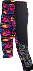 TYR Women's Santa Rosa Flex Splice Capri - Black/Multi
