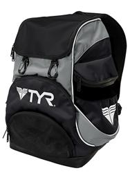 TYR Alliance Team Mini Backpack - Black/Silver