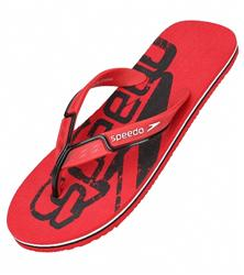Speedo Men's Zori Wavelength Flip Flop - Extreme Red/Black