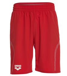 Arena Unisex Team Line Long Bermuda Short- Red