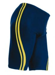 Adoretex Splice Swim Jammer - Navy/Gold