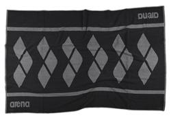 Arena Holly Towel - Black/SIlver