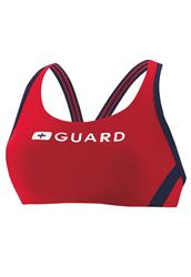 Speedo Guard Sport Bra Top - Red
