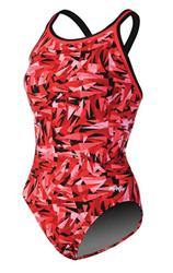 Dolfin Chloroban Crackle DBX Back - Red