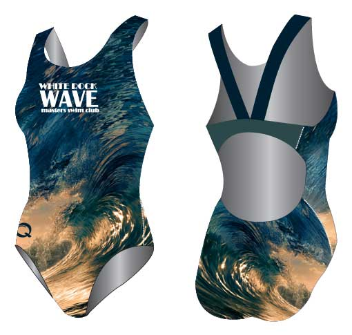 Real Pictures printed on Q Swimsuits