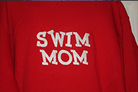 Swim Mom Metallic