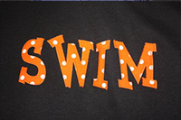 Swim Mom Orange